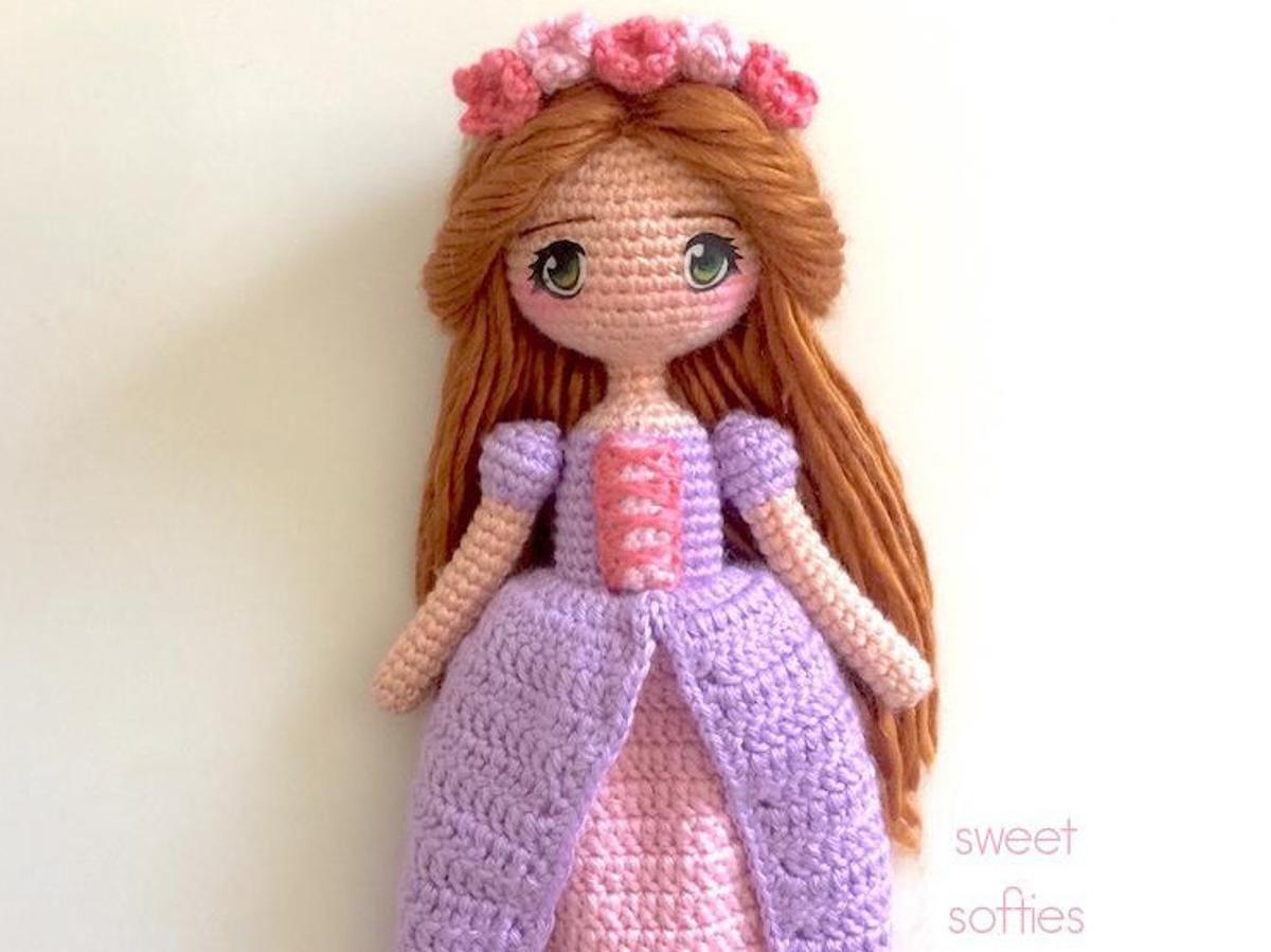 Amigurumi Doll Anime : Princess maeve irish celtic amigurumi anime doll anime dolls