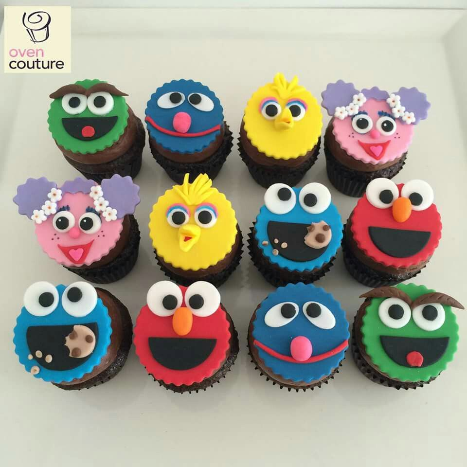 Sesame Street Cupcake Cake Ideas
