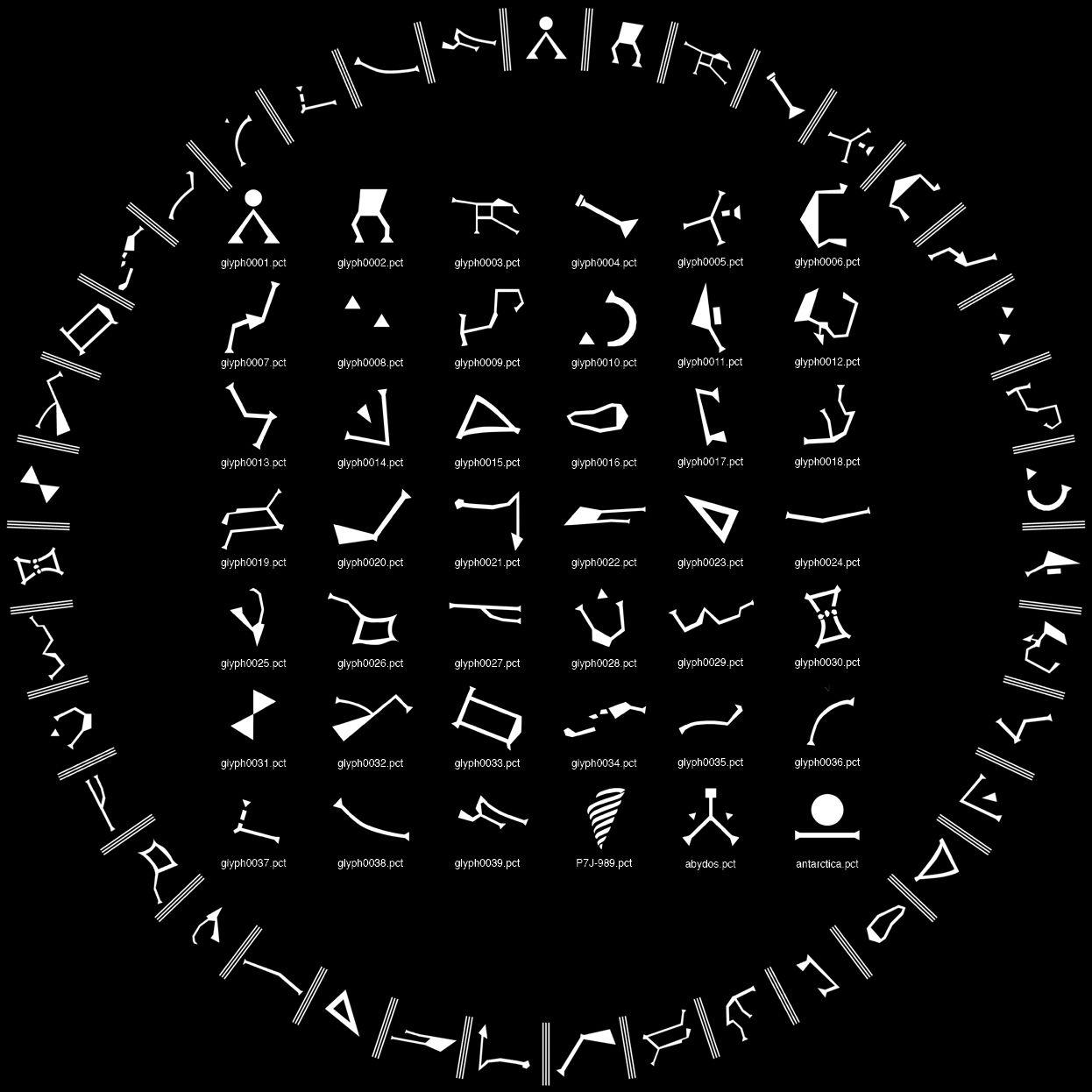 36 symbols or 39 symbols?