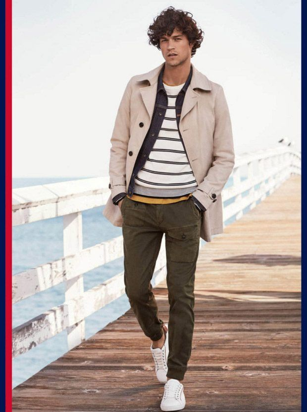 Tommy Hilfiger Spring Summer 2017 Menswear Starring Top Model Miles McMillan