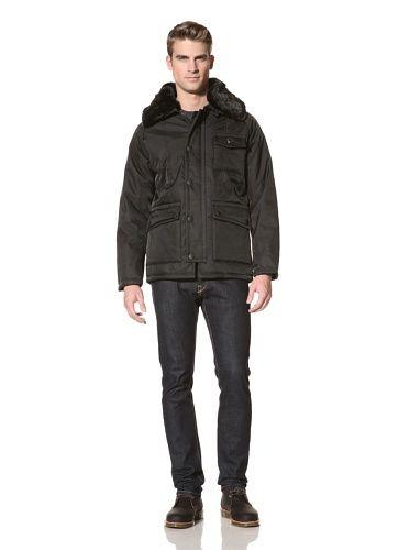 80% OFF Wellensteyn Men\'s Icehouse Coat (Black)