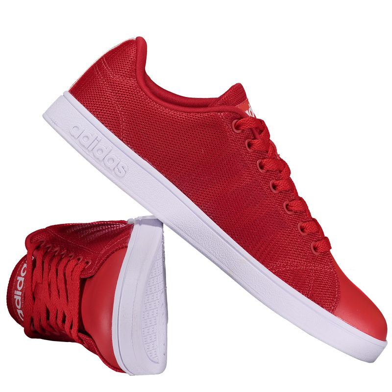 630174763 Tênis Adidas Vs Advantage Clean Vermelho Somente na FutFanatics você compra  agora Tênis Adidas Vs Advantage Clean Vermelho por apenas R  199.90. Casual.