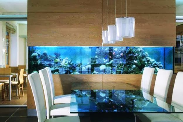 Interior design fish tank idea fish tank design for Aquarium interior designs pictures