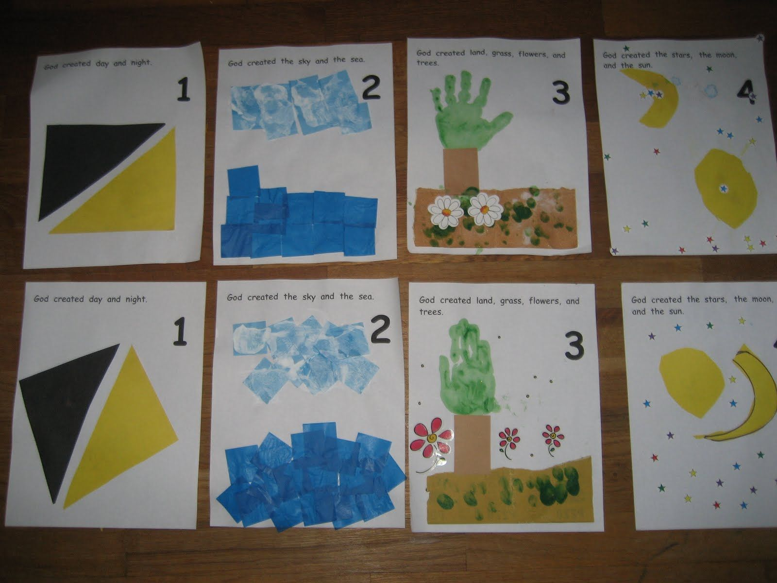 The Preschool Experiment Creation Book Pages Days 1 3