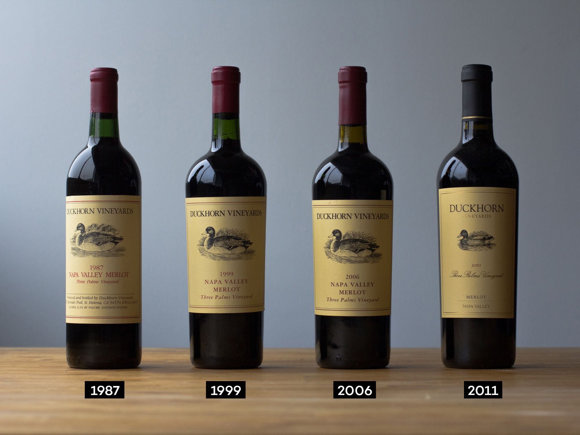 how long to age wine in bottle