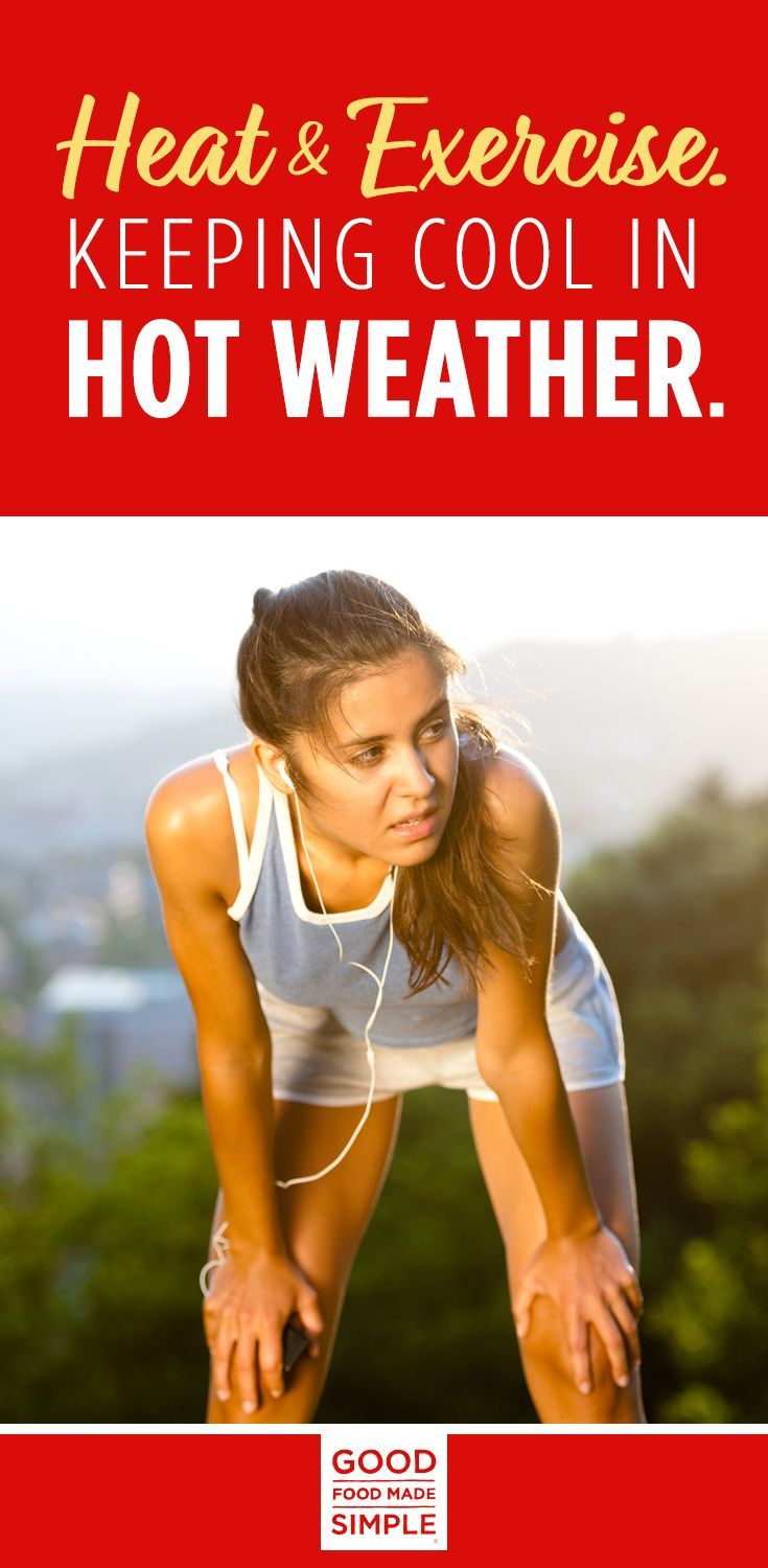 Heat and Exercise. Keeping Cool In Hot Weather #workout #hotweather #gfms #sweatsession #fitness