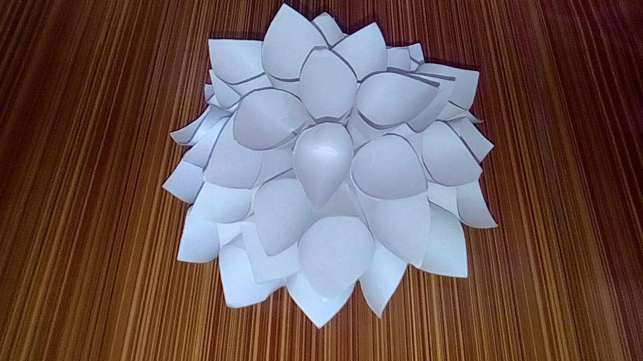 Big Paper Flowers Origami Big Paper Flowers Paper Flowers Origami