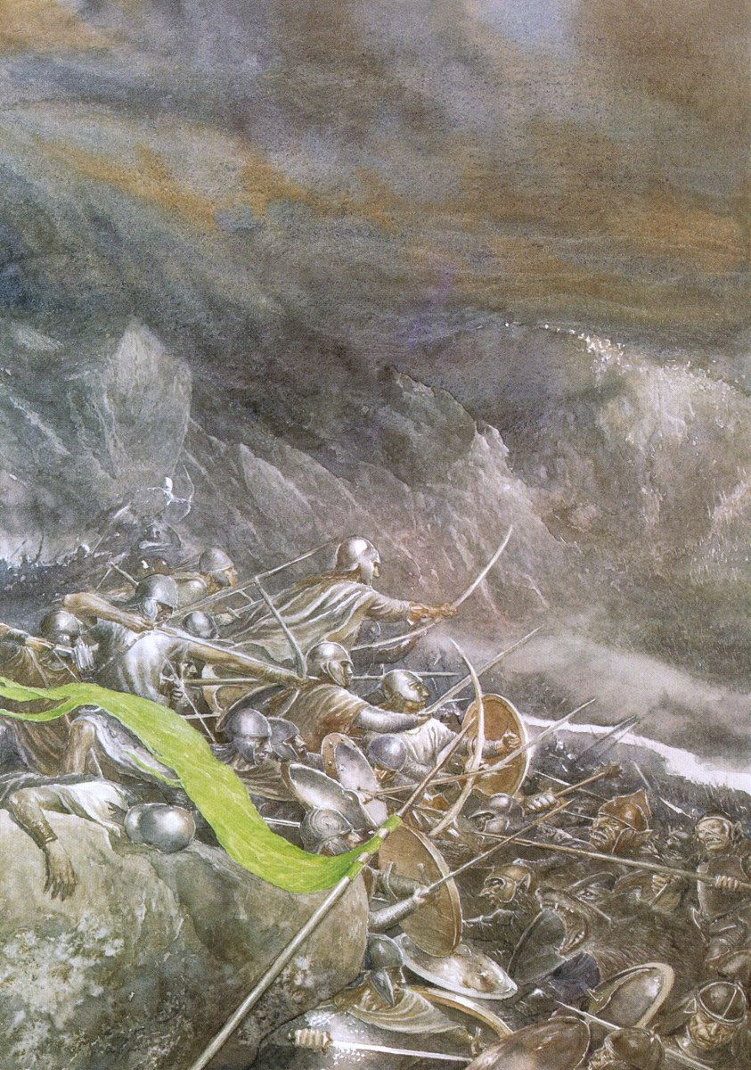 """""""The Elves were the first to charge."""" ~ Alan Lee"""
