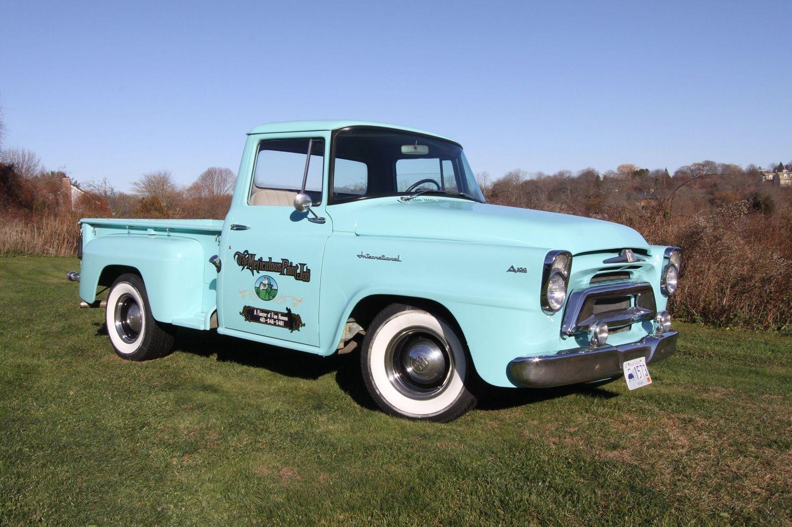 1957 international a 100 international harvester trucks pinterest - Moissonneuse cars ...