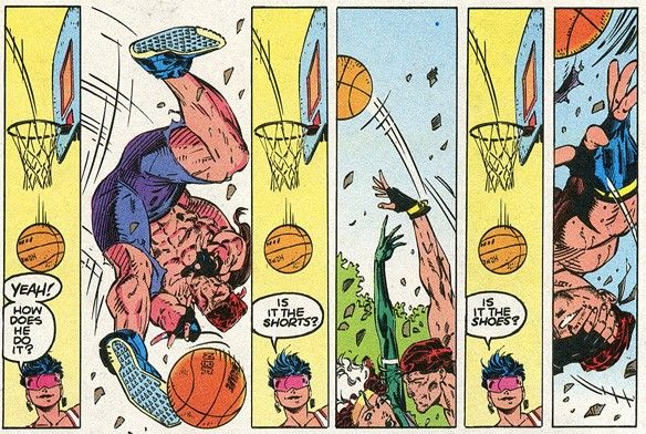This is not how you play basketball, Gambit  | Random X-Men