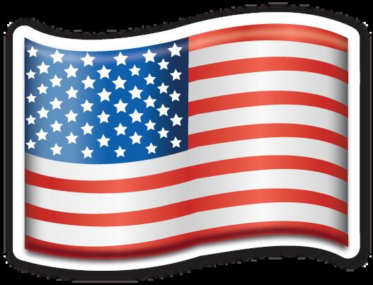 Resultado de imagen para usa flag emoji