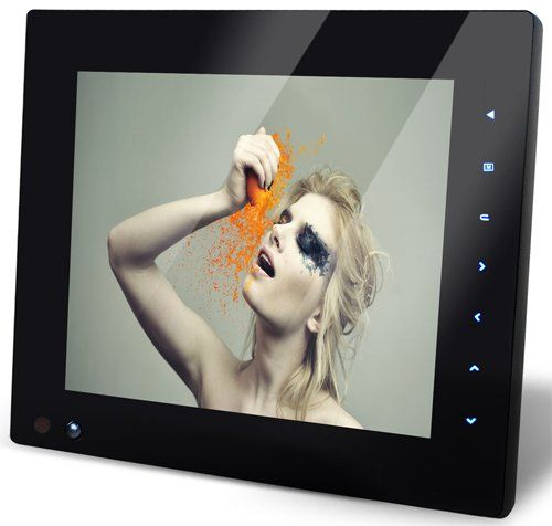 Nix Pro Series 8quot Digital Frame With Motion Detection Sensor And