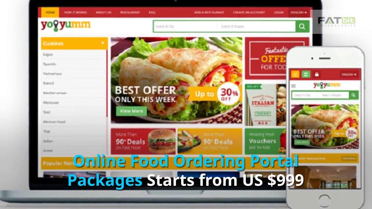 Online Food Ordering Multi vendor Marketplace website