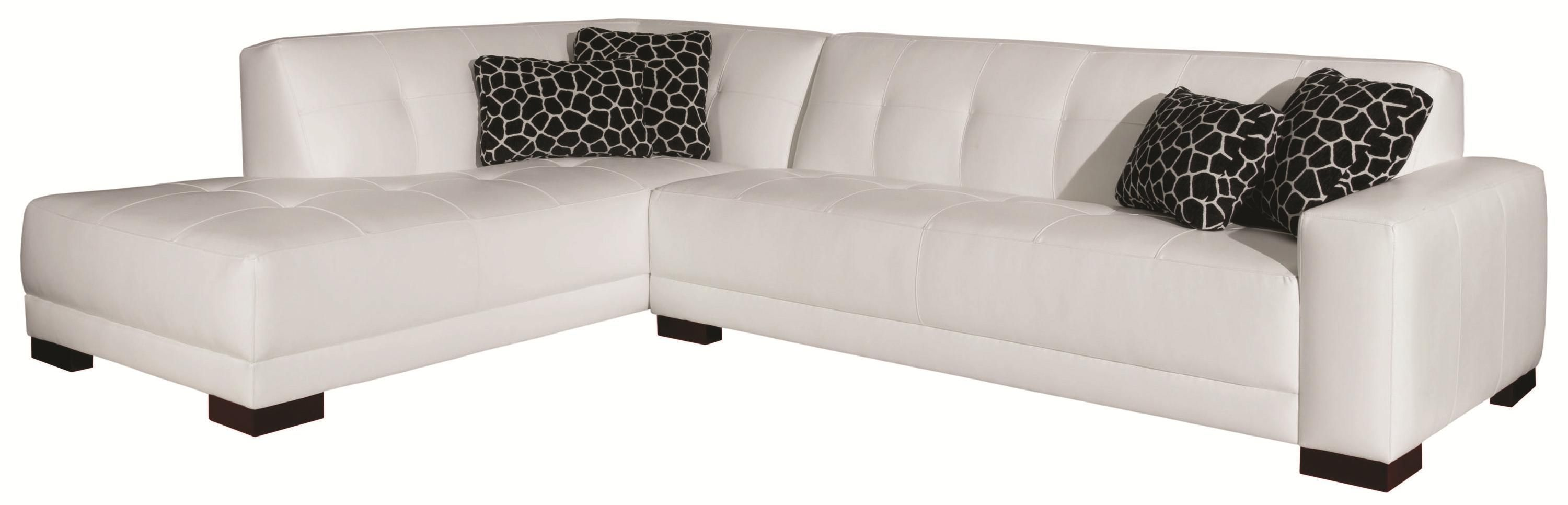 broyhill sofa nebraska furniture mart sofas cama italianos madrid medici contemporary sectional with tufted details by