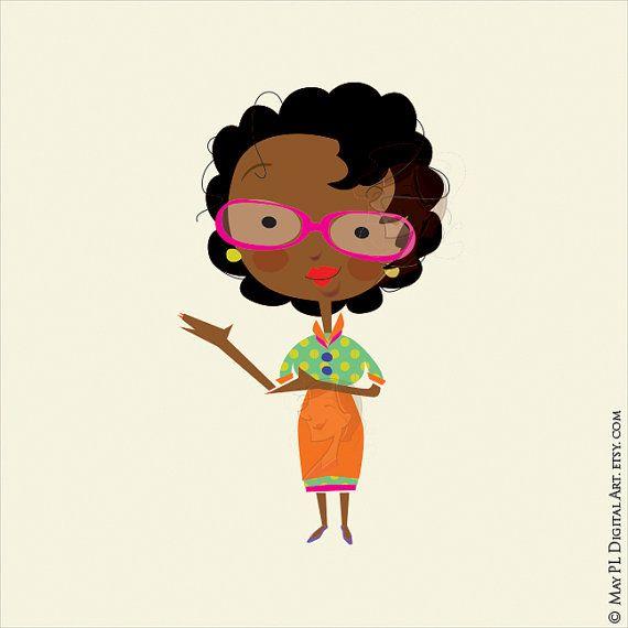 african american woman teacher classroom clip art african american rh pinterest co uk cute teacher clip art free cute teacher clip art free