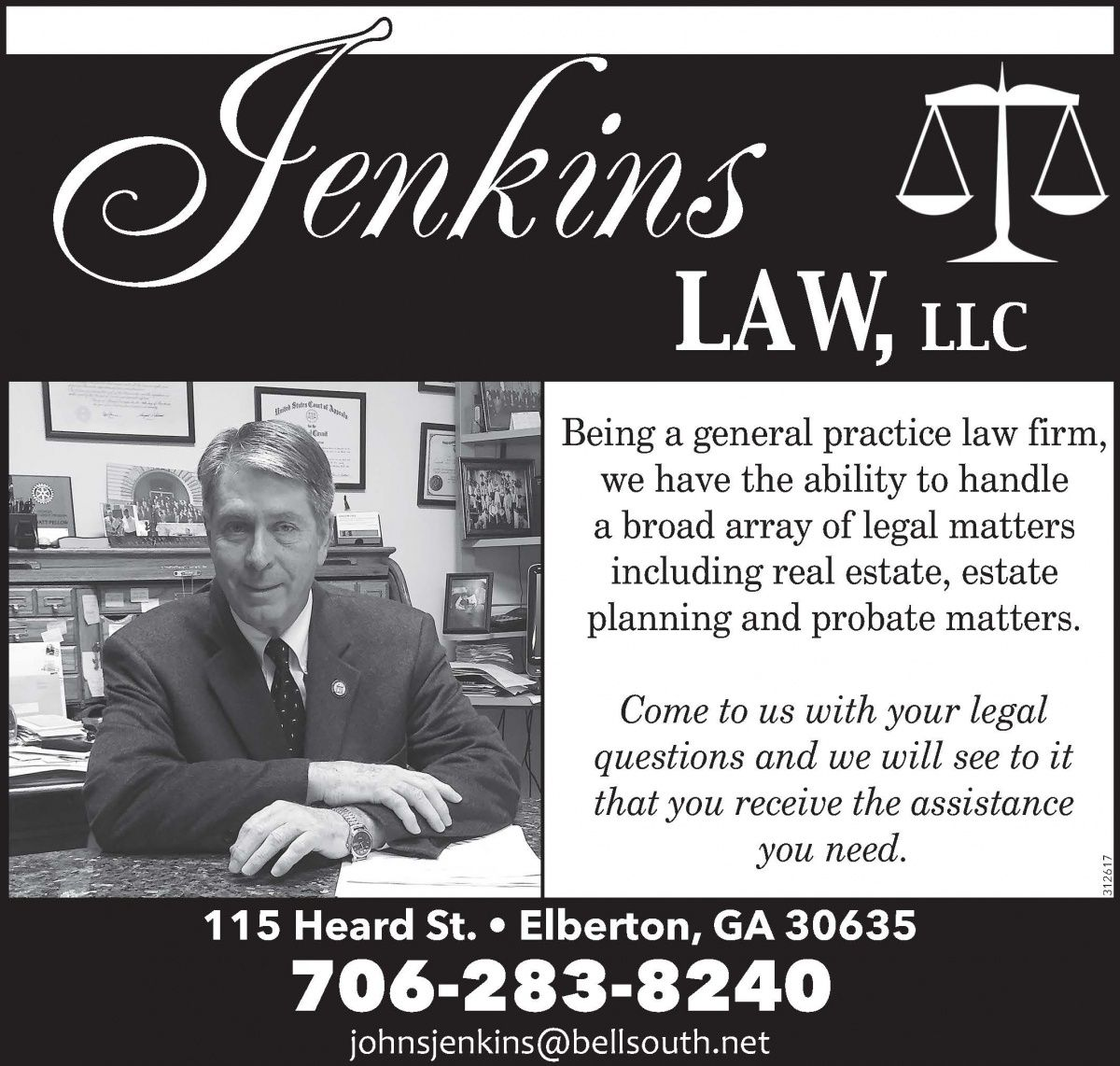 Being a general practice law firm, we have the ability to