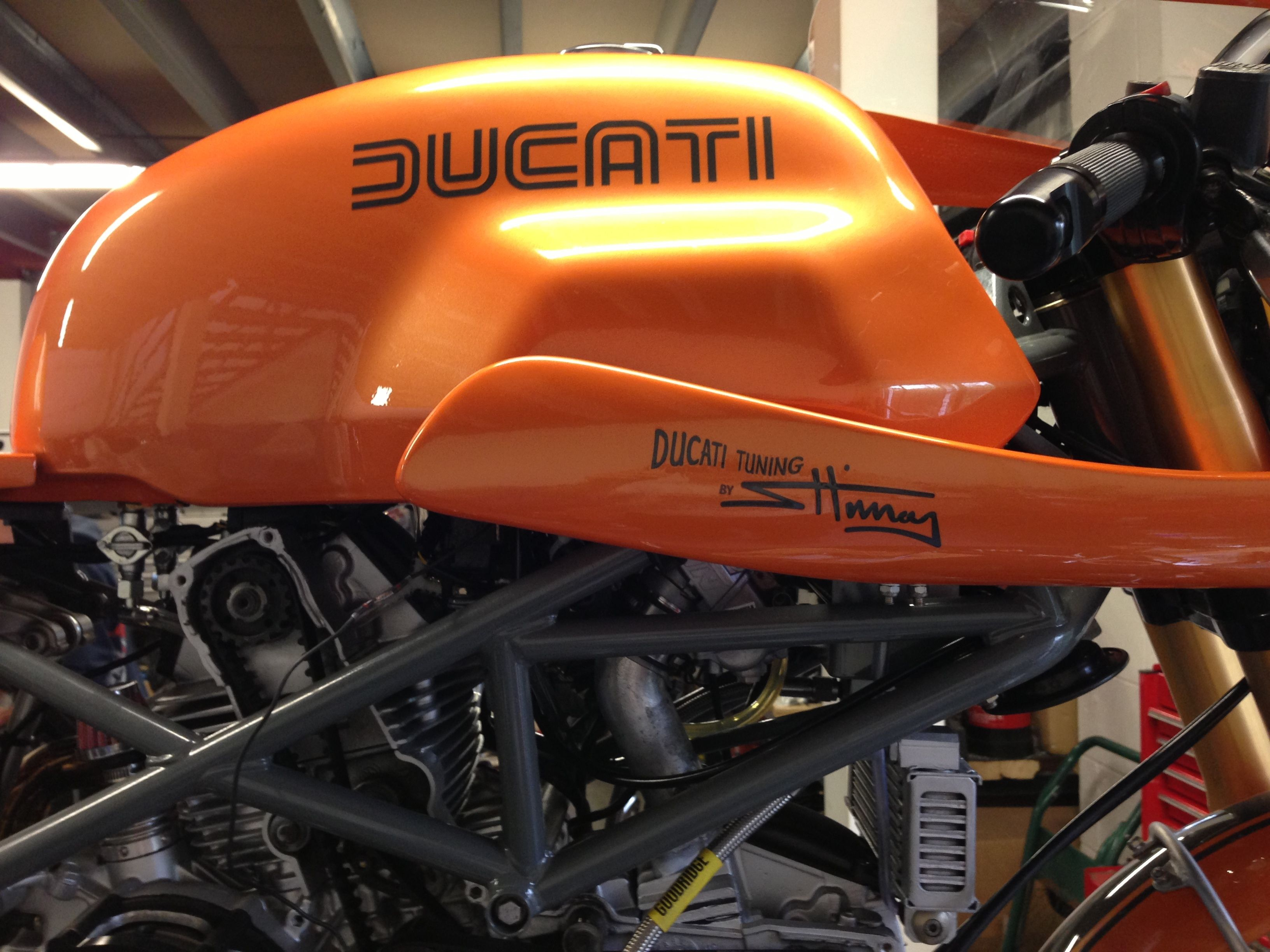 Ducati Cafe Racer Tank Sport Classic Style For Monster St Ss