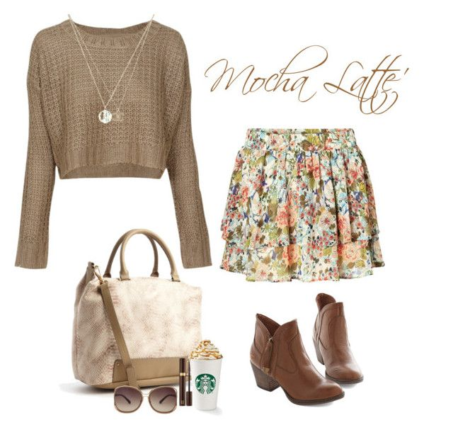 """""""Mocha Latte' - 9.24.2014"""" by k-hearts-a ❤ liked on Polyvore featuring QED London, Kelsi Dagger Brooklyn, Tom Ford, Linda Farrow, Chanel and Vero Moda"""