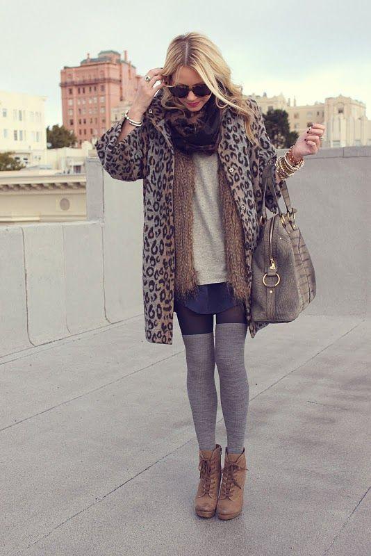 i want an oversized leopard cardigan!
