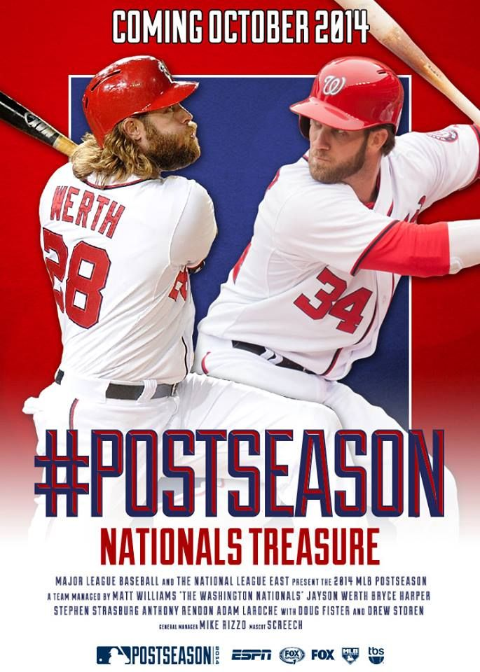 Nationals are officially in the postseason! Coming soon to