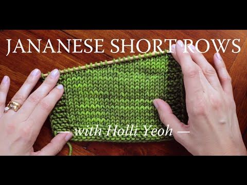 Knitting Wrap And Turn Tutorial : W t in knitting how to wrap turn knit short rows
