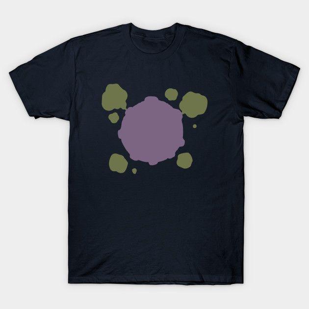 Minimalist Pokemon, Koffing - Mens T-Shirt