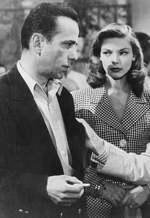 Lauren Bacall and Humphrey Bogart, To Have and Have Not