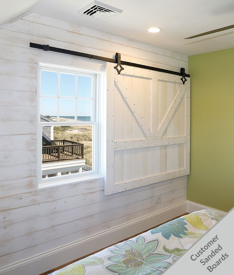 Shiplap As Primed Pine White Nickel Gap Is A Beautiful Wall Boarding Wall Siding Option For Interiors E White Wood Wall White Wood Paneling Shiplap Paneling