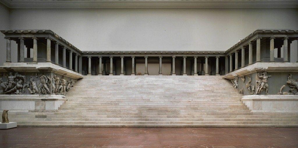 Pergamon Views Of The Zeus Altar Ca 180 Bce Artsy Pergamon Photo Famous Structures