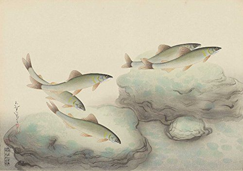 Image result for japanese paintings of sweetfish