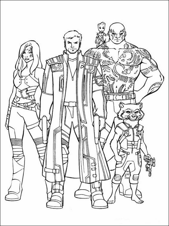 Guardians Of The Galaxy Printable Coloring Pages 19 Avengers Coloring Pages Avengers Coloring Coloring Pages