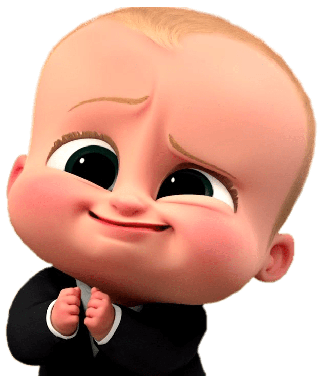 Http Www Stickpng Com Img At The Movies Cartoons Boss Baby Boss Baby Cute Face Semuanya Lucu Animasi Disney Kartun