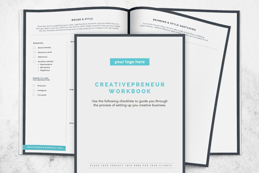 BUNDLE! Creativepreneur Workbooks #Sponsored , #Startup#Workbooks#Creativepreneur#styles
