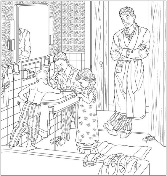 Pin de Barbara en coloring pregnant, baby, mariage, familie | Pinterest
