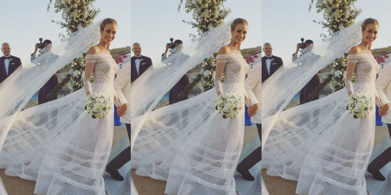 Valentino wedding dress  Ana Beatriz Barros Married In The Most Beautiful Valentino Gown And
