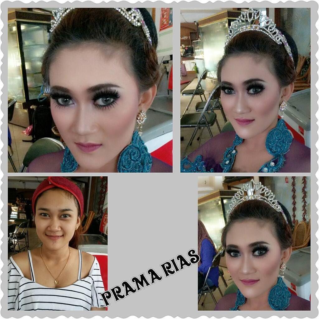Makeup Hairdo By Me Pramarias Makeup For L Mega Mua Muabandung Muajakarta Muasurabaya Muabali Muabalikpapan Makeup Riasp Make Up Instagram