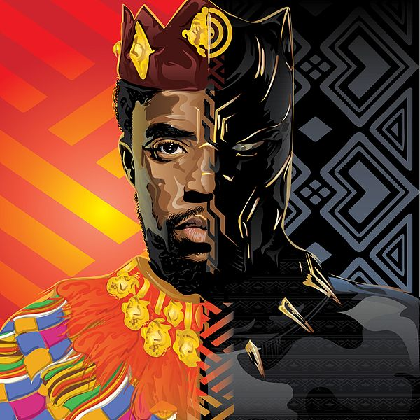 Black Panther Throw Pillow for Sale by Tec Nificent