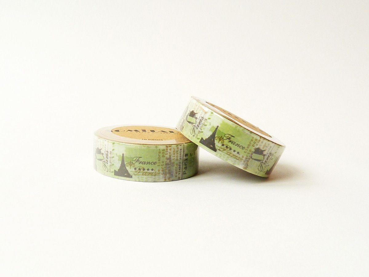 Washi Tape Viaje de Europa de WashiTapeCollection (1,95 €)