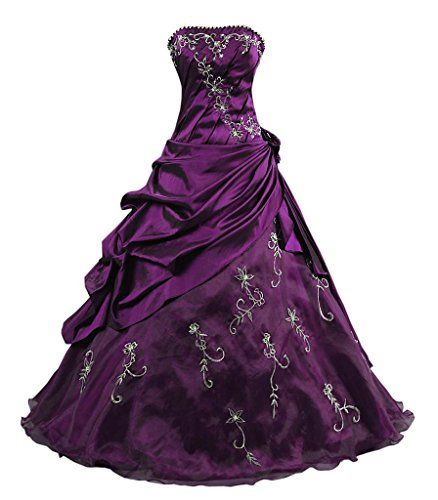 Purple Prom Dresses Size 12