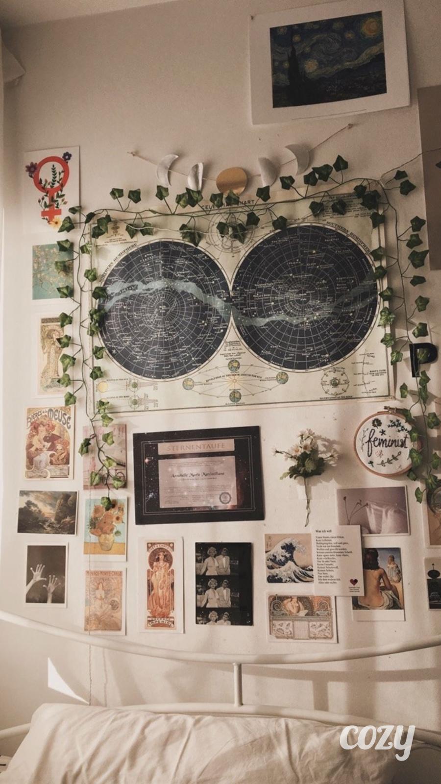 smart vintage bedroom aesthetic in 12   Bedroom vintage, Indie ...