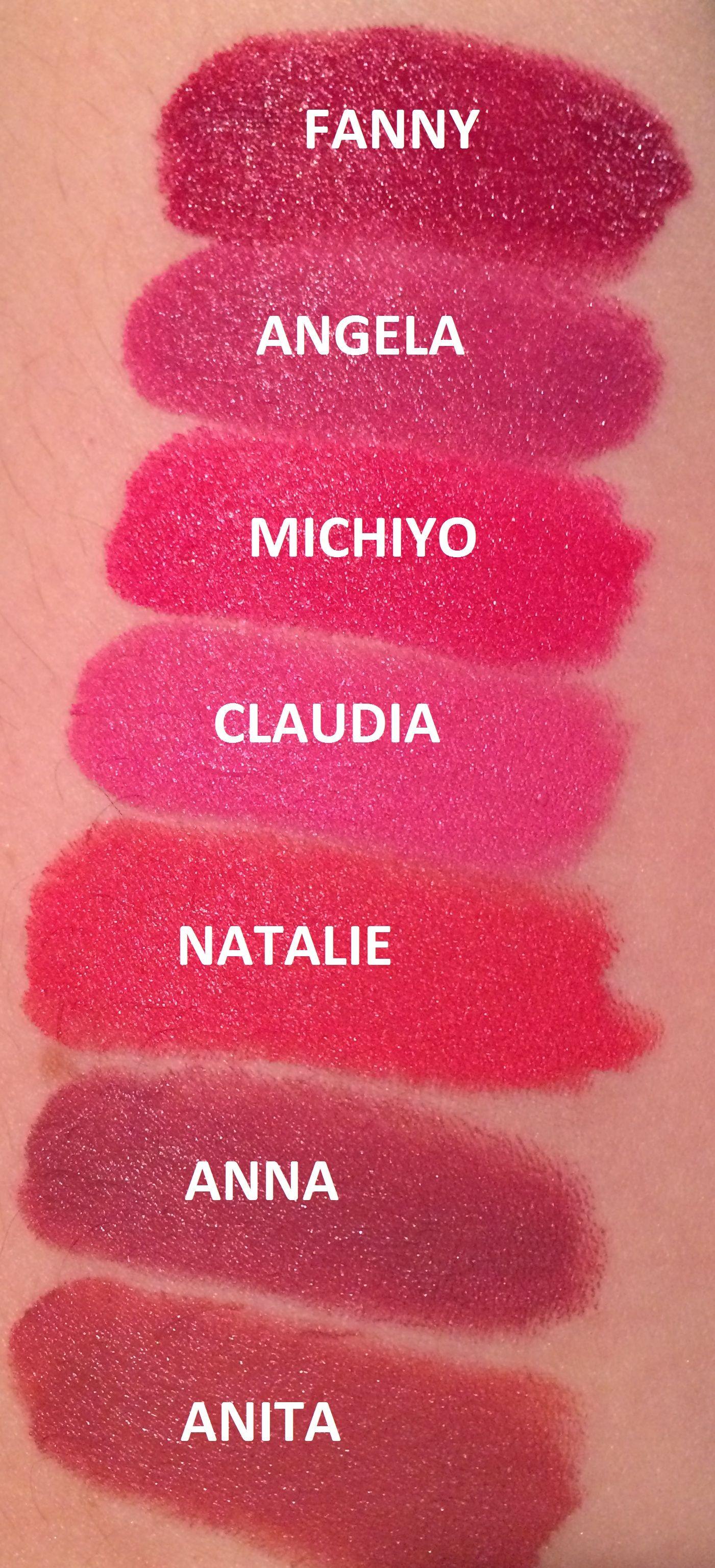NARS Audacious swatches Nars audacious lipstick, Makeup