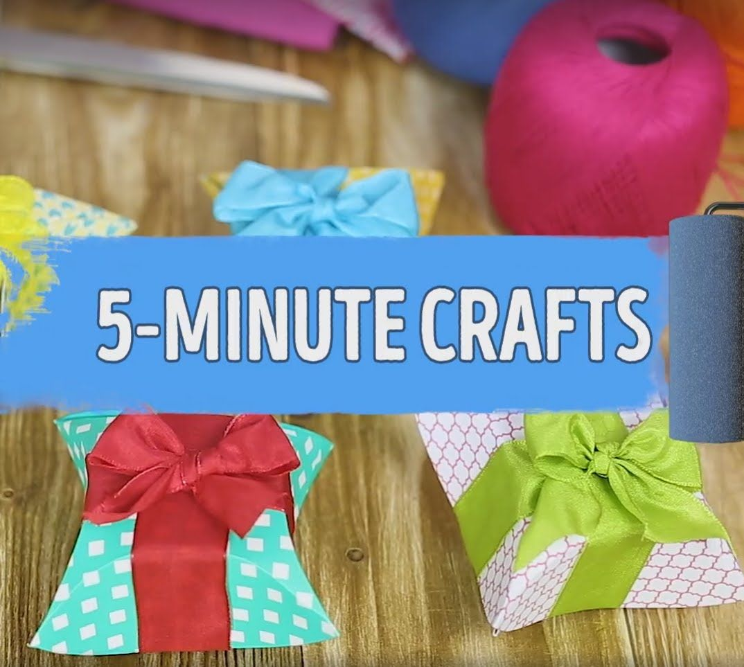 How To Make A Lovely Gift Box Using A Cd By 5 Minute Crafts Ou
