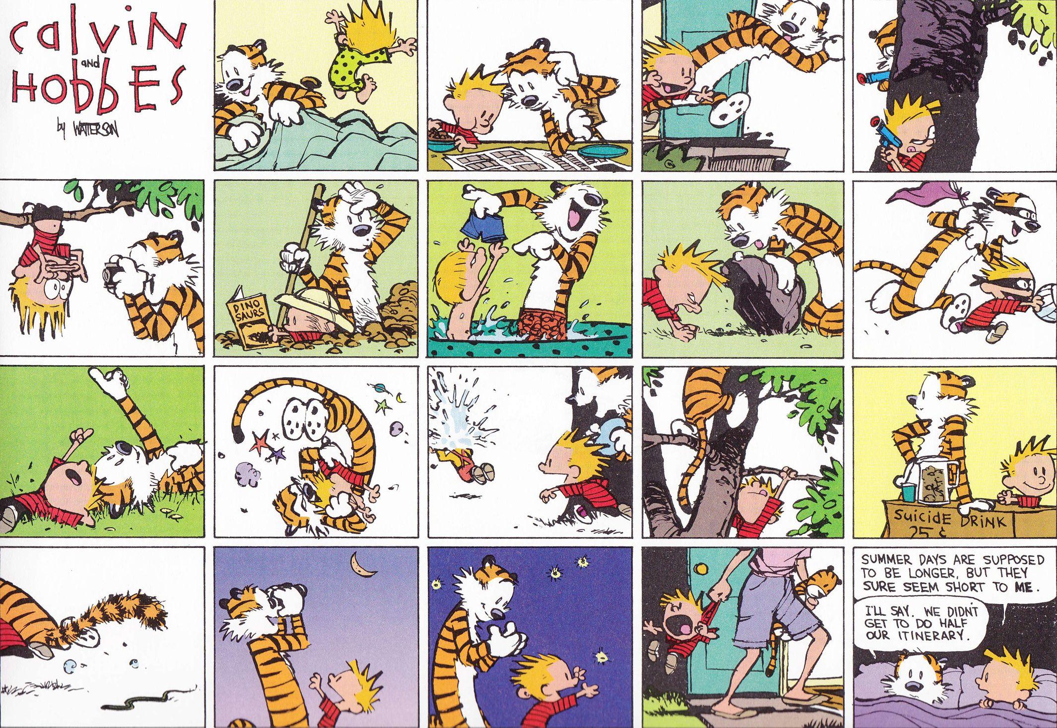 Calvin, Hobbes, Calvin