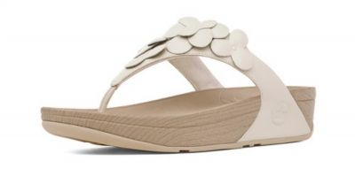 9c43e9e030bd Fitflop Fleur Urban White -This great Womens FitFlop Fleur range sandals is  not only elegant