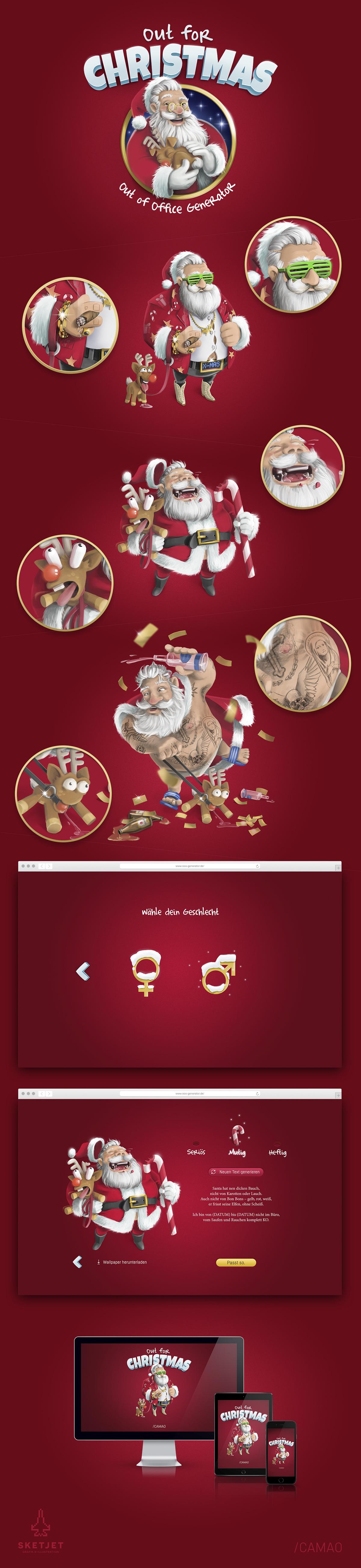 Grafik und Illustration von Jonathan Frübis / Digital Illustration in Adobe Photoshop (Entstanden bei CAMAO AG)