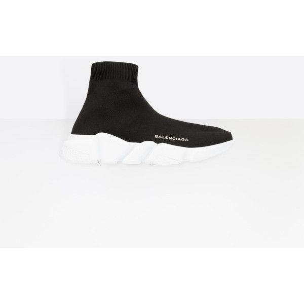 Balenciaga Speed Trainer ($595) ❤ liked on Polyvore