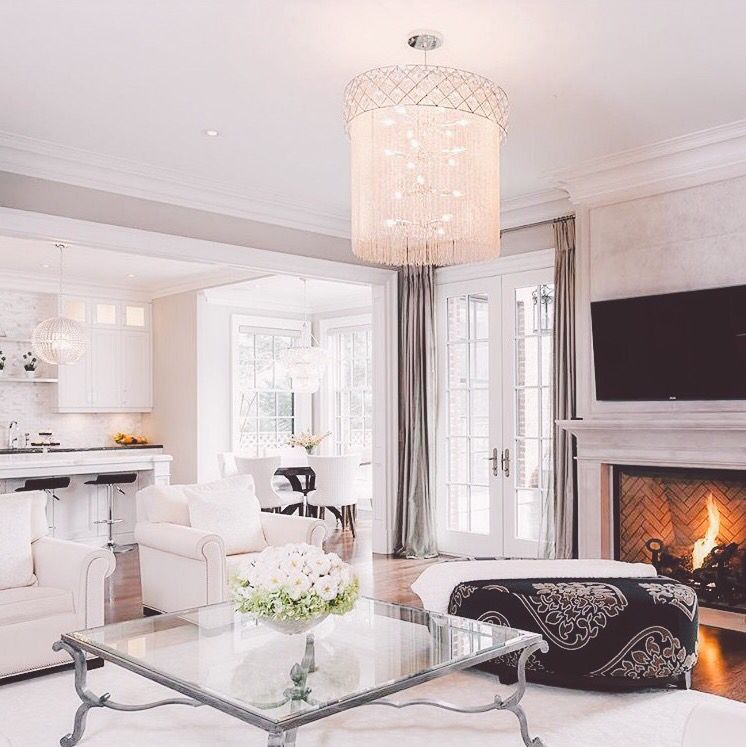 Love the white marble white cabinets in