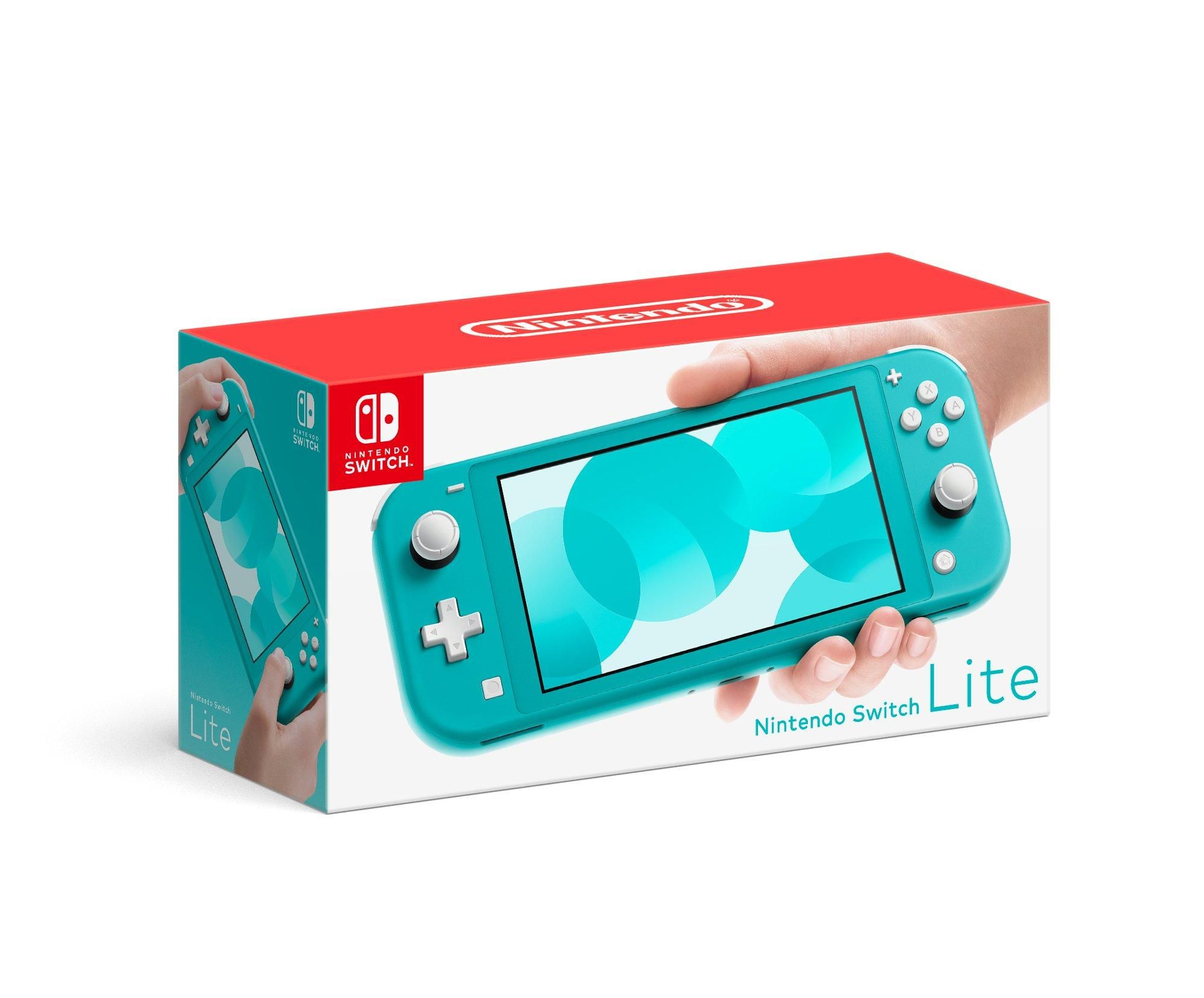 Nintendo Switch Lite Turquoise (With images) Nintendo
