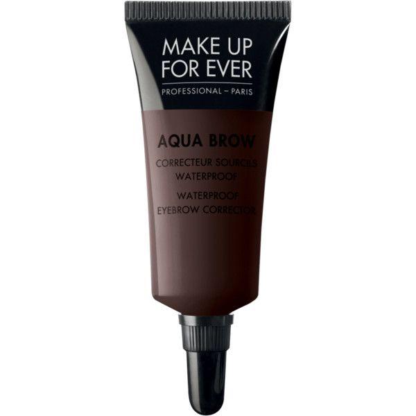 Aqua Brow ($22) ❤ liked on Polyvore