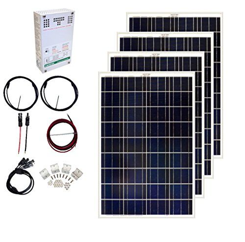 Grape Solar Gs400ckita 400w Solar Charging Kit For 1224v Battery Banks Visit The Image Link More Details Affiliate Lin Solar Energy Solar Shop Solar Charging